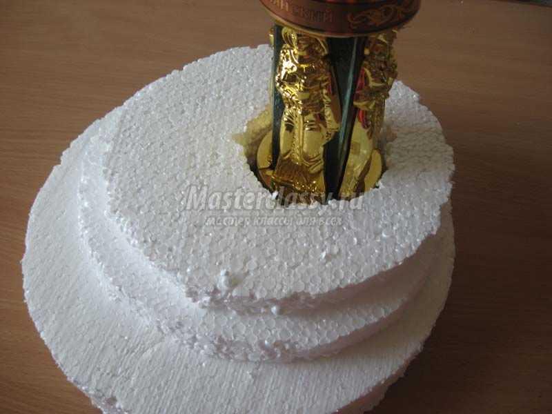 Букет и конфет мастер класс фото пошаговая инструкция
