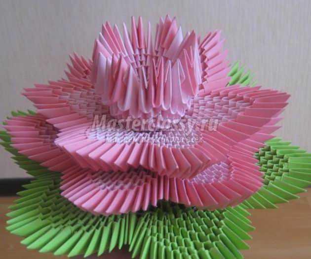 Что сделать из модулей оригами схема